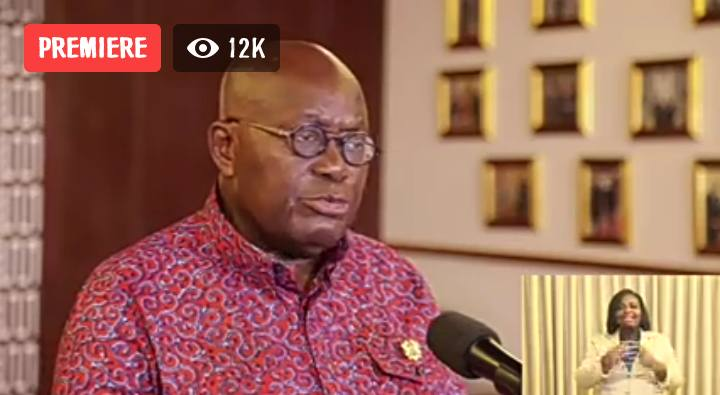 Ban on public gatherings: Our Muslim brothers and sisters should pray at home - President Akufo-Addo