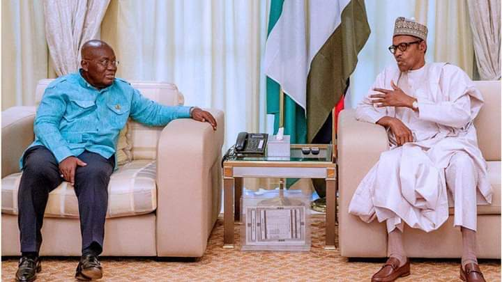 Prez Akufo-Addo Apologizes to Buhari for Demolition of property at Nigeria High Commissioner's premises