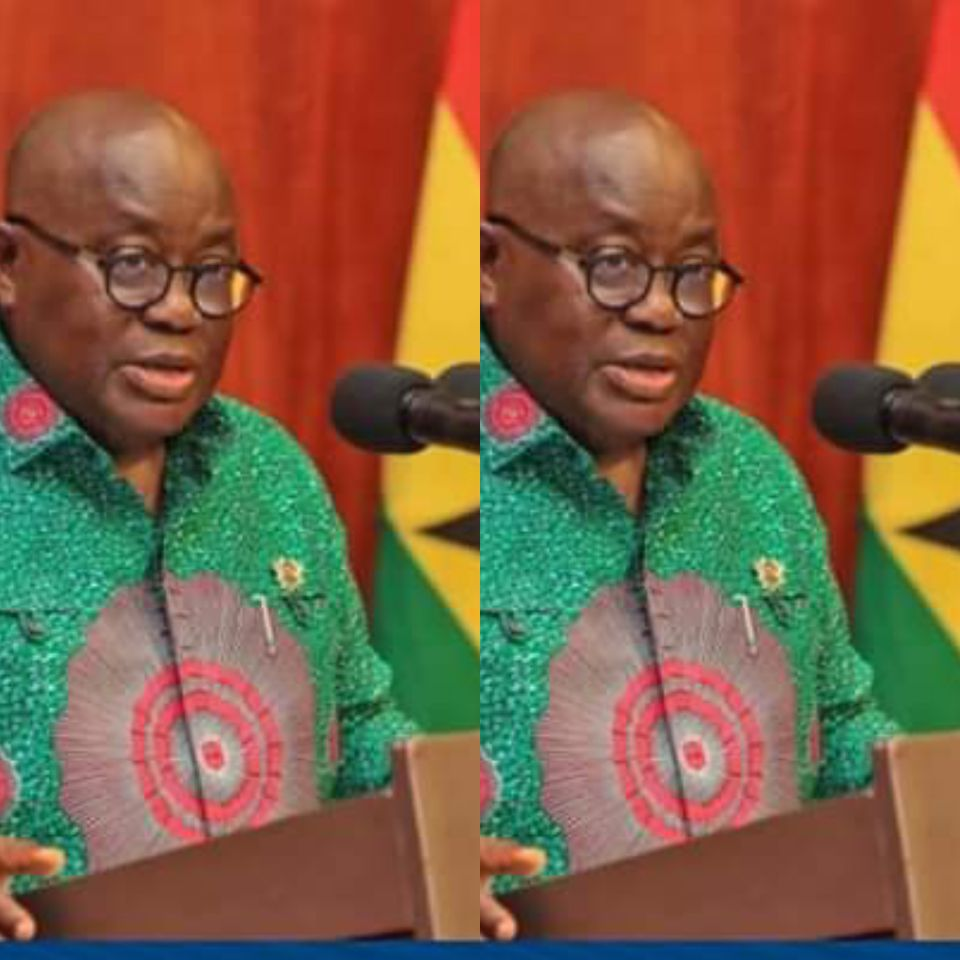 Fellow Ghanaians; Akufo-Addo addresses the nation tonight on the Voter Registration Exercise (SEE time)