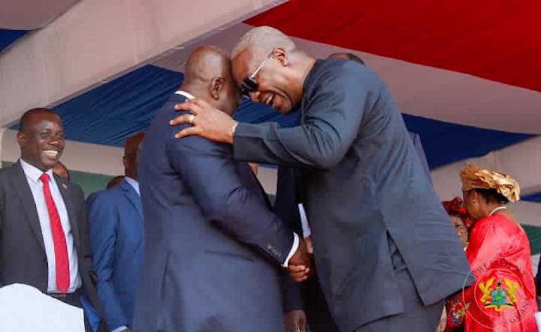 I'll be a father for all not like Akufo-Addo when I become President – Mahama assures