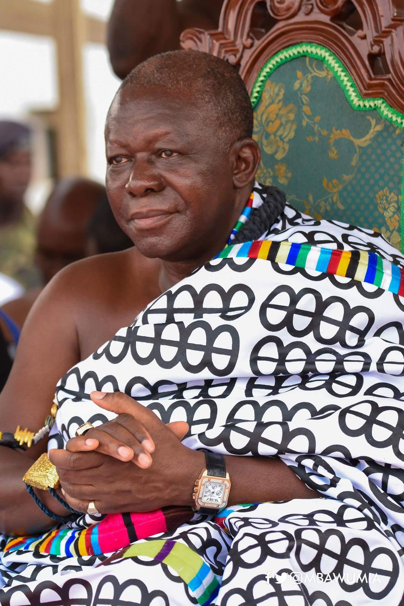 Otumfuo's Hiahene DIES, Manhyia Palace Confirms