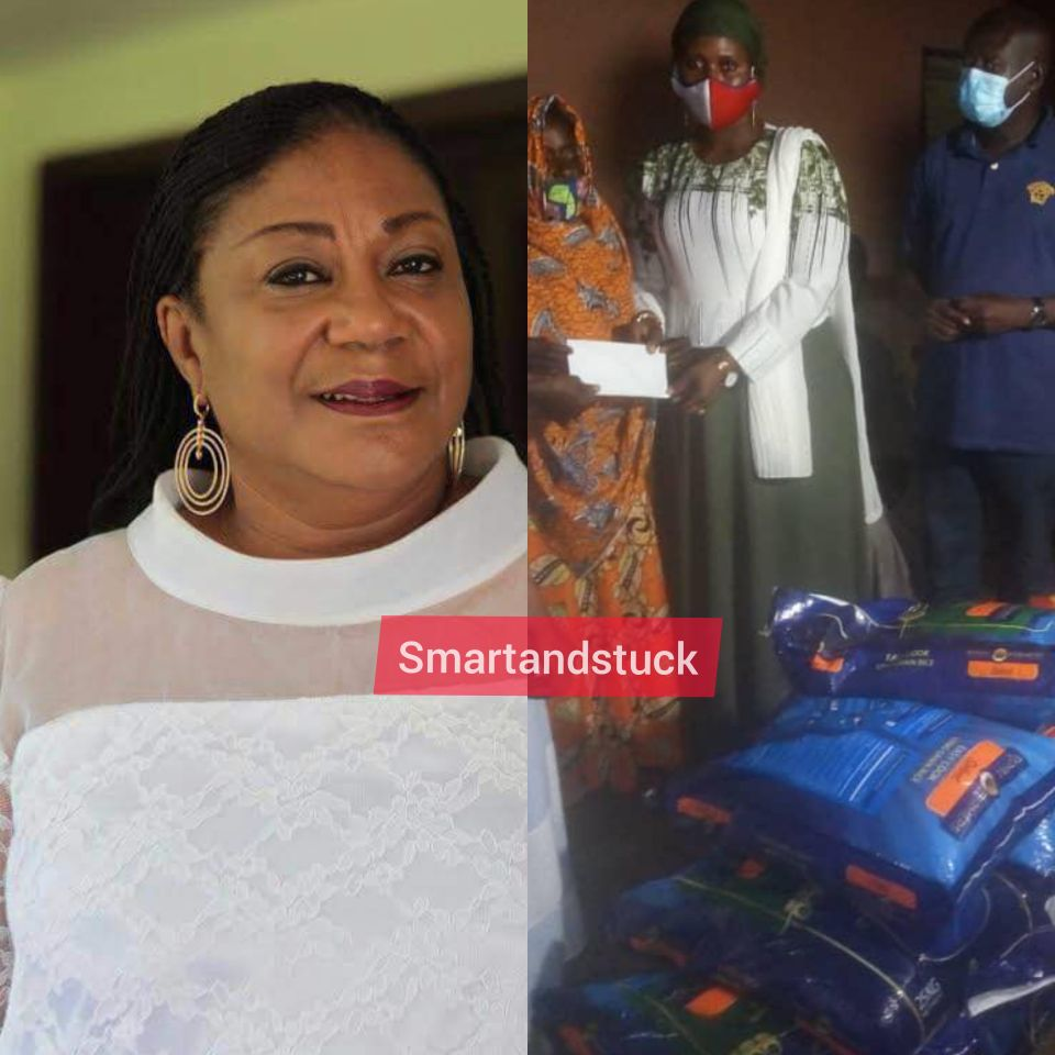 PHOTOS: First Lady, Rebecca Akufo-Addo Sends Delegation to Salaga over lynching of 90-year-old woman