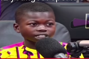 Watch the youngest sports presenter in Ghana giving analysis on football matters (VIDEOS)