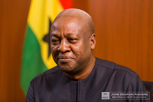 Gov't must GUARANTEE the safety of Ghanaians – Mahama