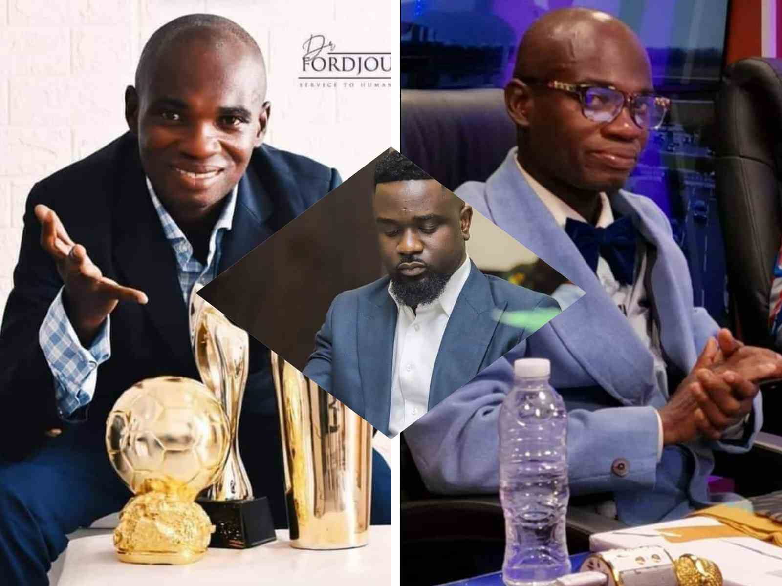 Dr UN threatens to take back AWARD from Sarkodie (WATCH VIDEO)