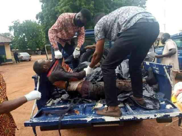 Western Region: Two suspected armed robbers shot dead by Police at Asankragua