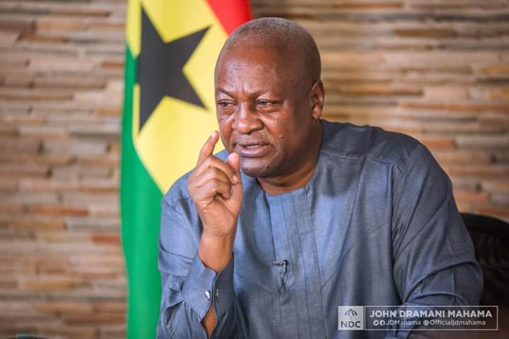 Ghanaians should be careful and vote for me because Akufo-Addo will die early – Mahama sparks another controversy (WATCH VIDEO)