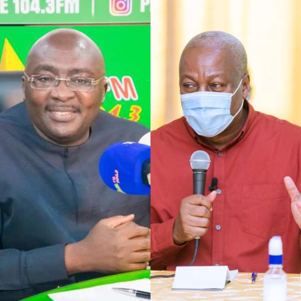 Bawumia instructs Mahama to apologize for his 'Akyem Sakawa Mafia' comment