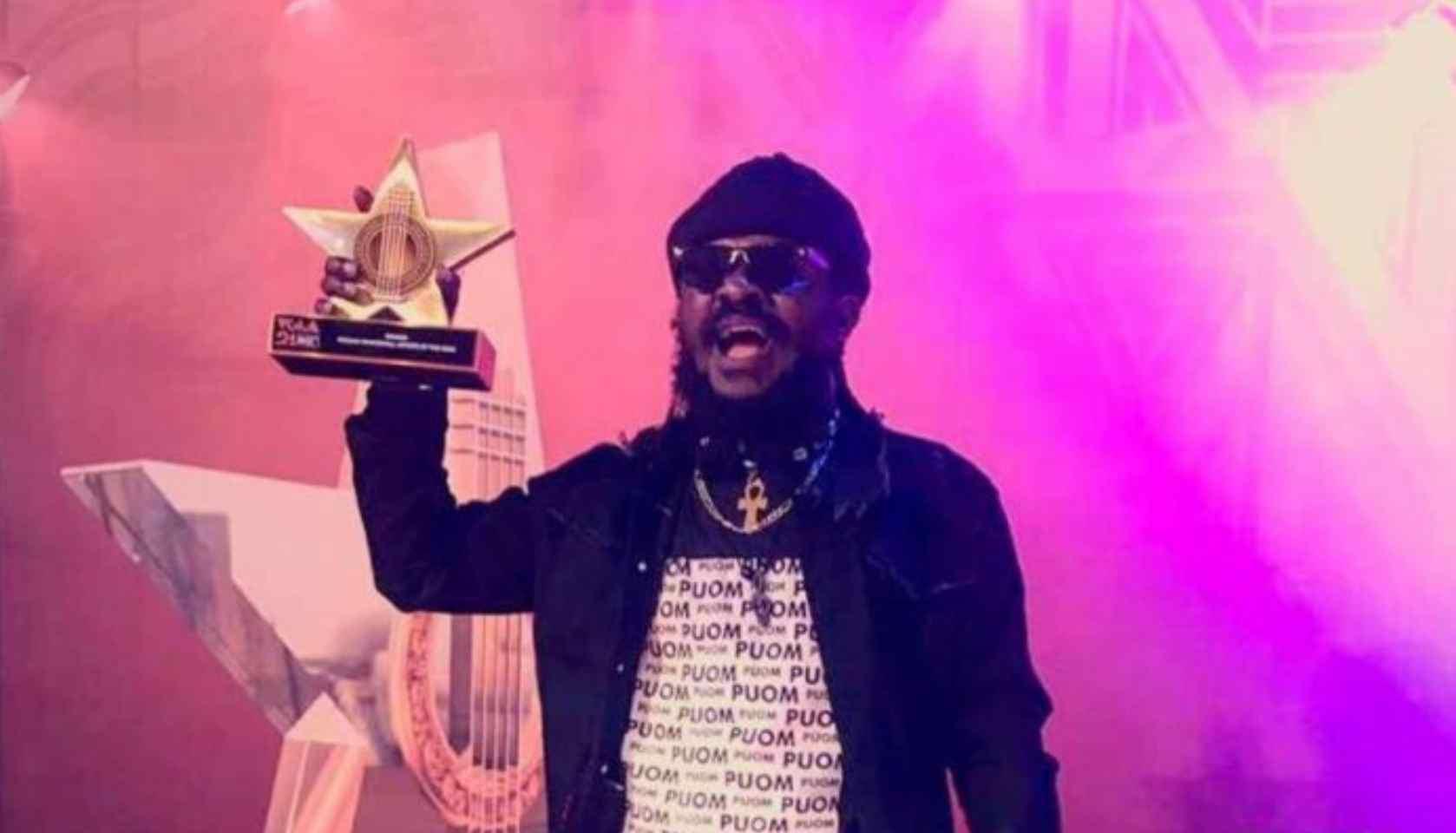 Just In: Ras Kuuku's VGMA Award Stolen