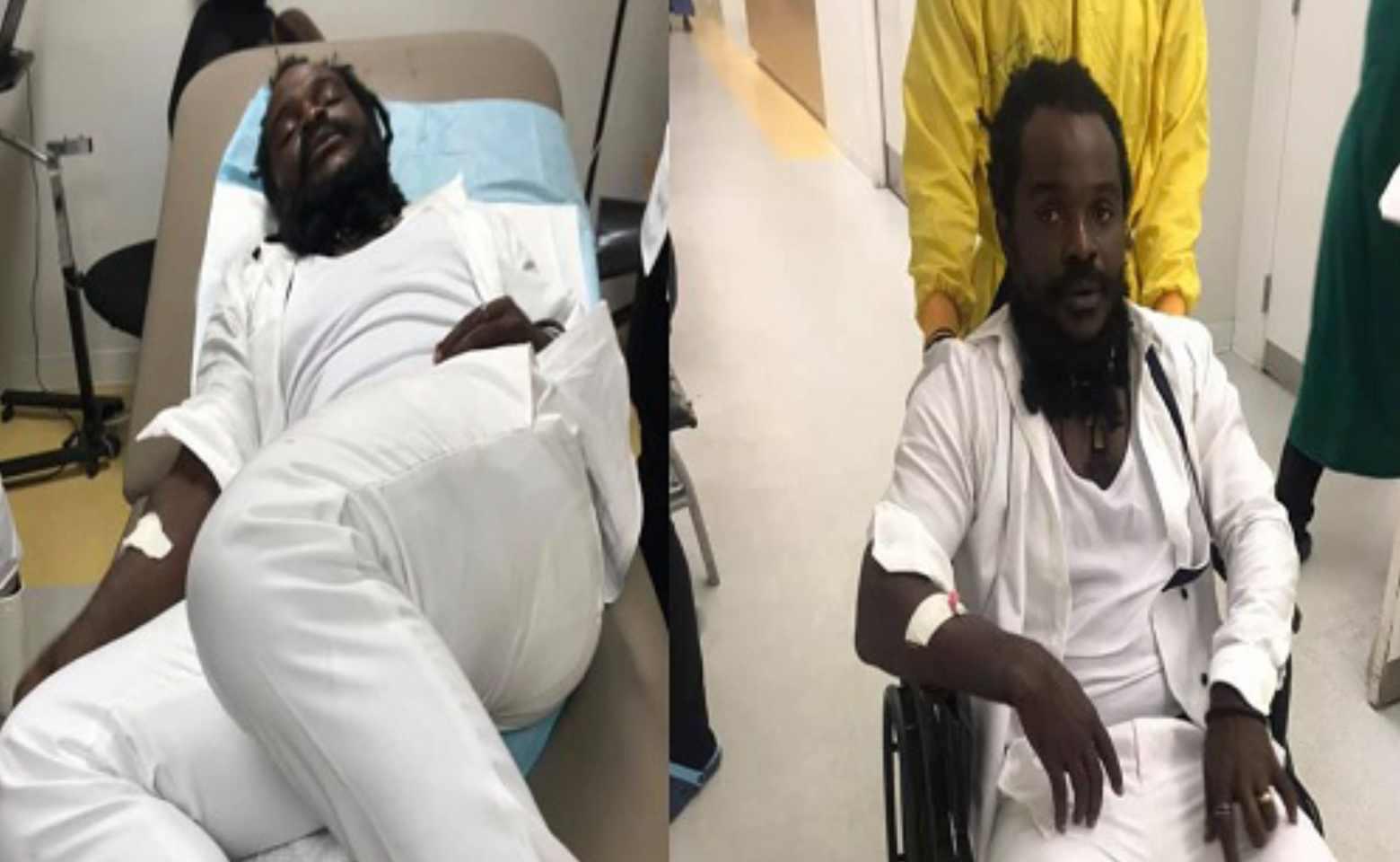 Watch Video: Ras Kuuku hospitalised after Asaase soundclash injury