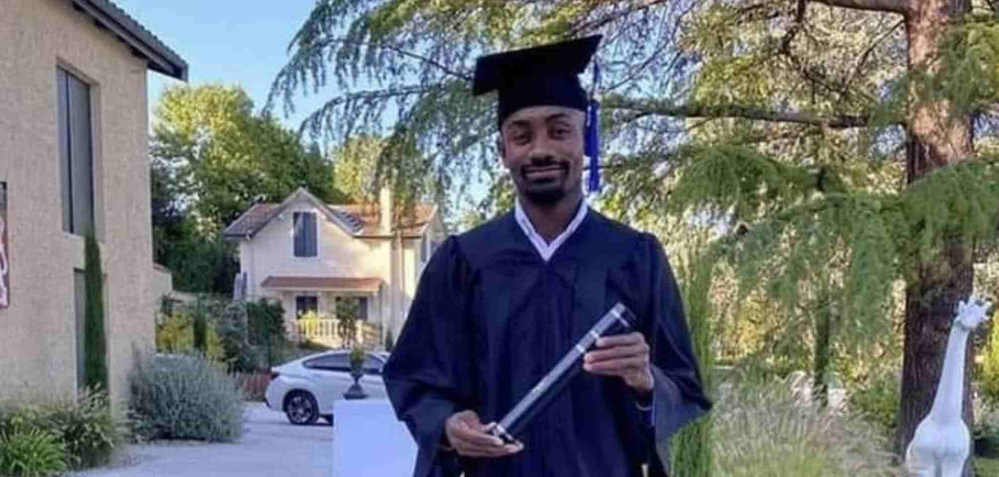 PHOTO: Former Chelsea player, Salomon Kalou GRADUATES with degree in Business Administration from French University