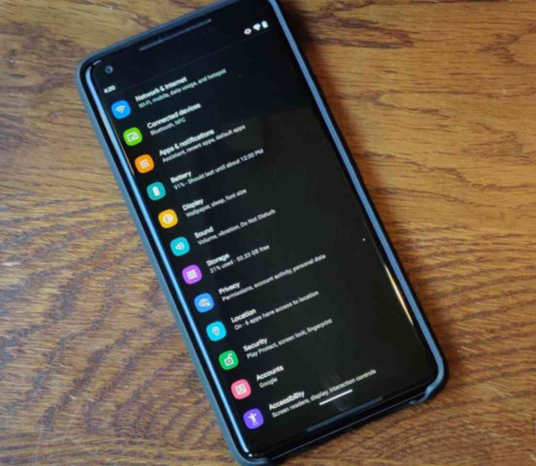 Dark mode on Android and how to get it