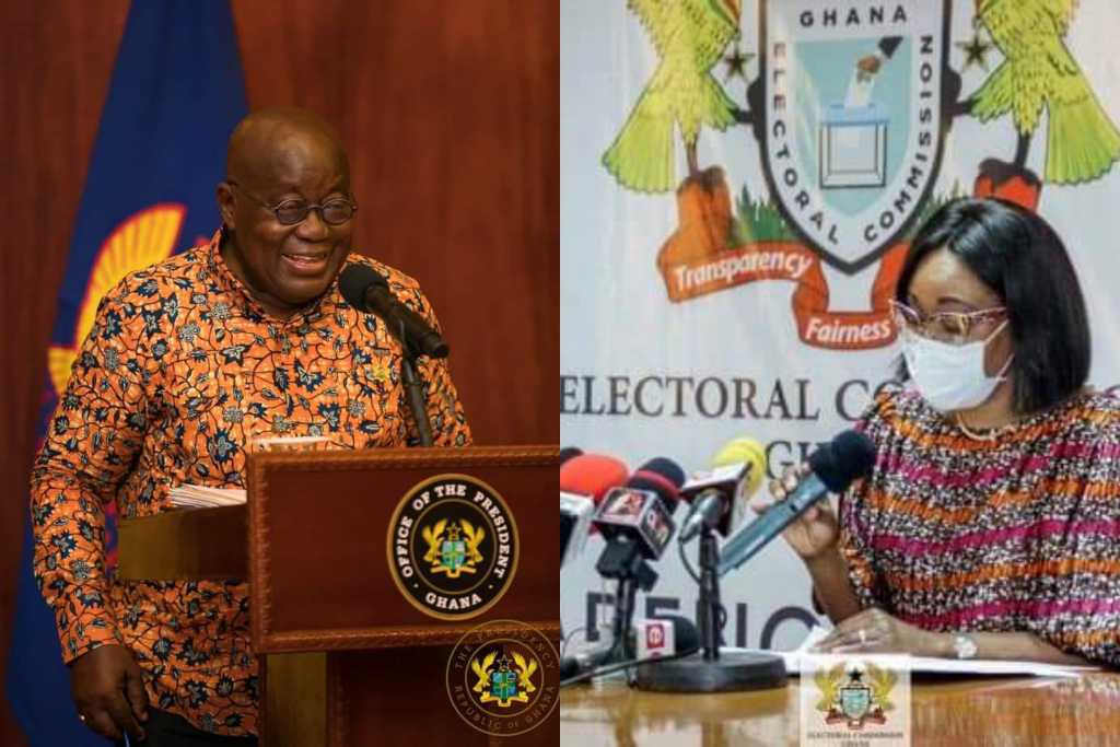 President Akufo-Addo is the President elect – Jean Mensa Declares