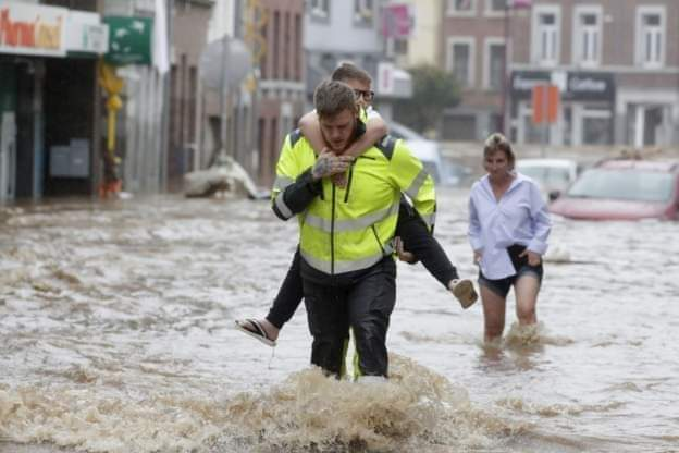 PHOTOS: 42 killed and dozens missing after record rain in Western Europe