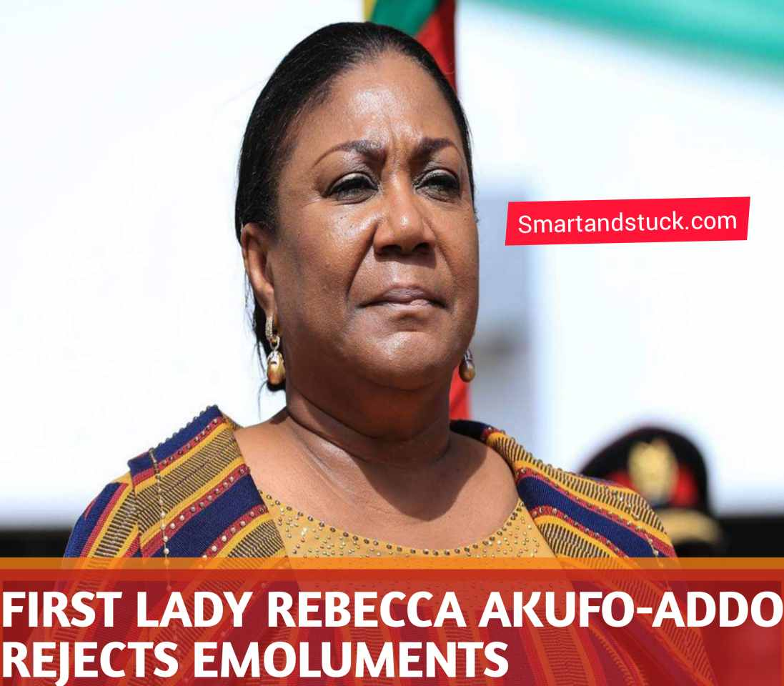 First Lady Rebecca Akufo-Addo rejects allowances; set to refund 899K to state after series of verbal attack on her image