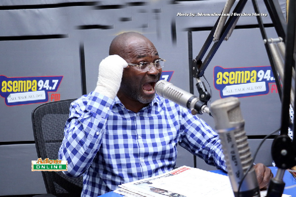 BREAKING: Ken Agyapong confesses Akufo Addo is in full support of his threats and verbal attacks against journalists in the country (VIDEO)